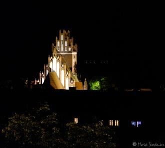 Wieża kościoła w Gniewie